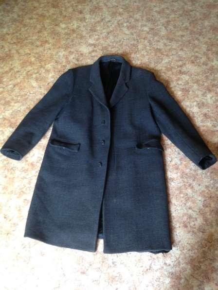 Пальто мужское драповое 60-е гг винтаж