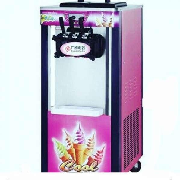 Фризер на колесиках для мягкого мороженого