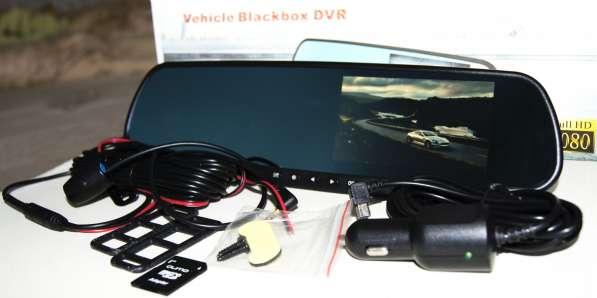 Зеркало видеорегистратор Vehicle Blacbox DVR