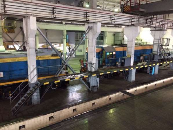 Ремонт маневровых тепловозов (локомотивов)