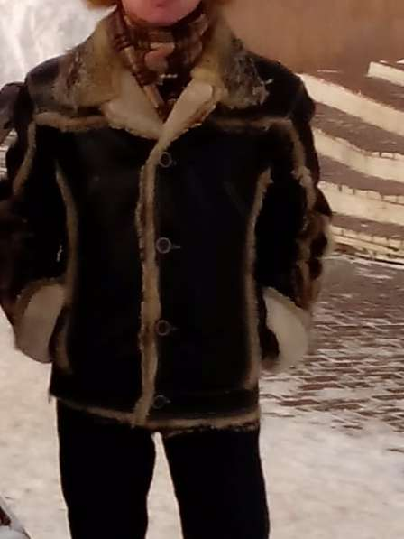 Продам кожаную куртку на меху