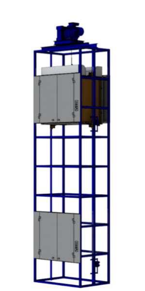 торговое оборудование Малый грузовой лифт.