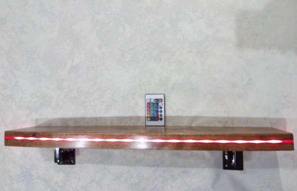 Полка с подсветкой в фото 3