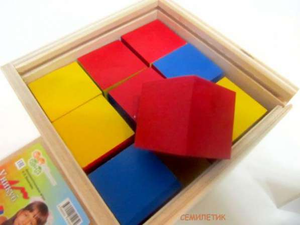 Кубики Никитиных Уникуб для всей семьи ума палата