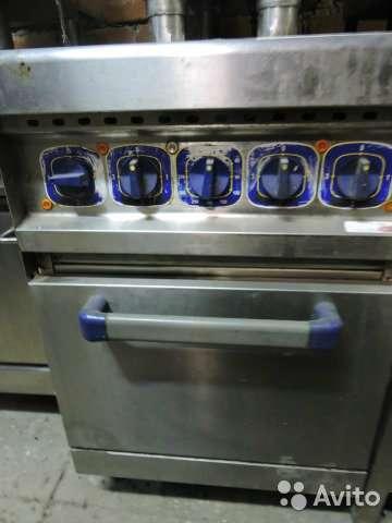 торговое оборудование Плита промышленная электр