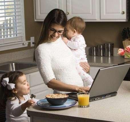 Работа/Подработка мамам в декрете/домохозяйкам/студентам!