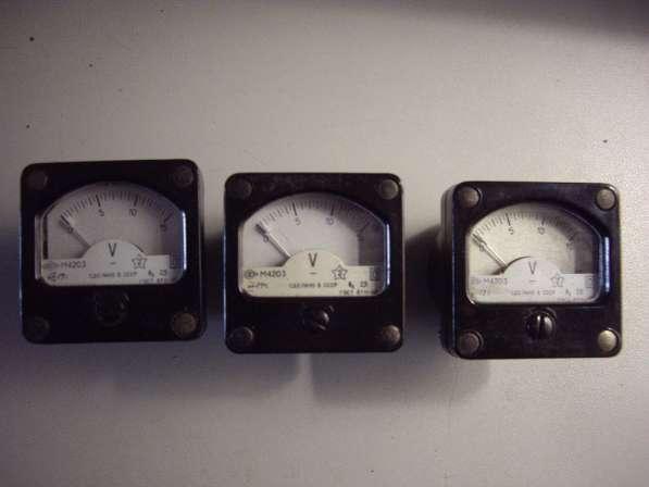 Измерительные головки для радиолюбителей М4203 в Челябинске фото 7