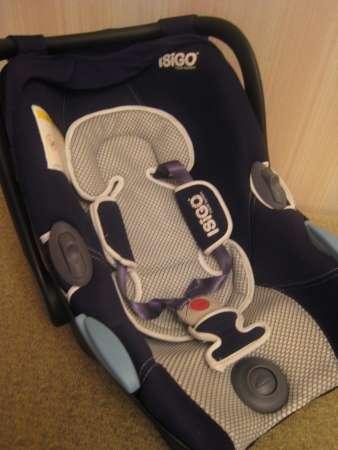 Детское автокресло-переноска ISIGO Diana