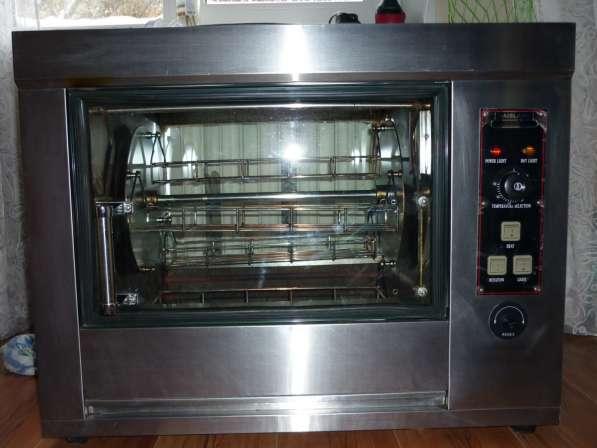 Профессиональная гриль-печь