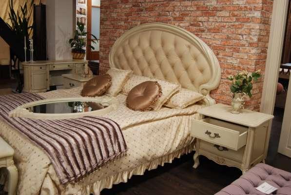 Спальный гарнитур 6 предметов слоновая кость в Новосибирске фото 9