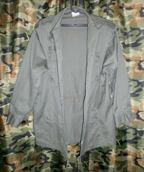 Армейская лёгкая куртка Франция в Екатеринбурге фото 3