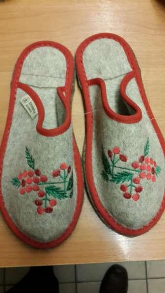 Обувь из войлока в Челябинске фото 4
