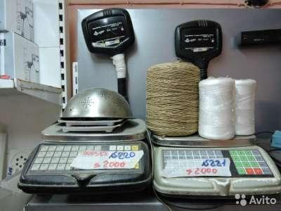 торговое оборудование Настольные весы