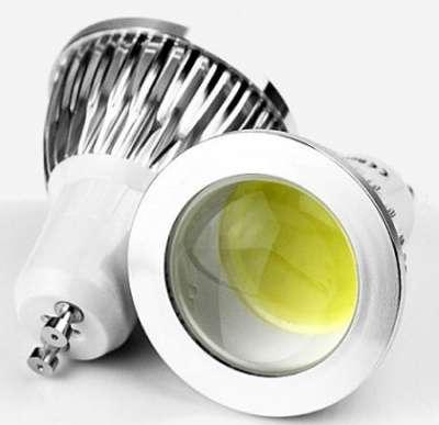 Мощные светодиодные лампы GU10 COB 6w COB GU10 LED