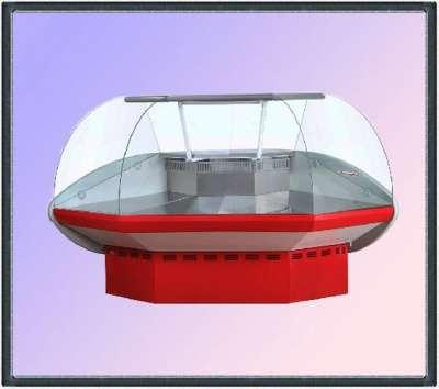 торговое оборудование Витрина 0+ 7С