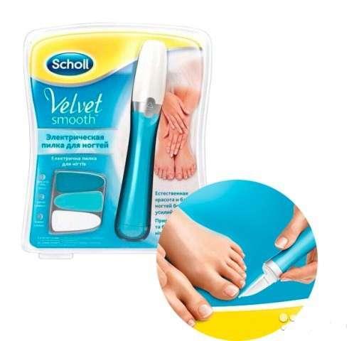 """Пилка Scholl """"Velvet Smooth"""" для ногтей"""