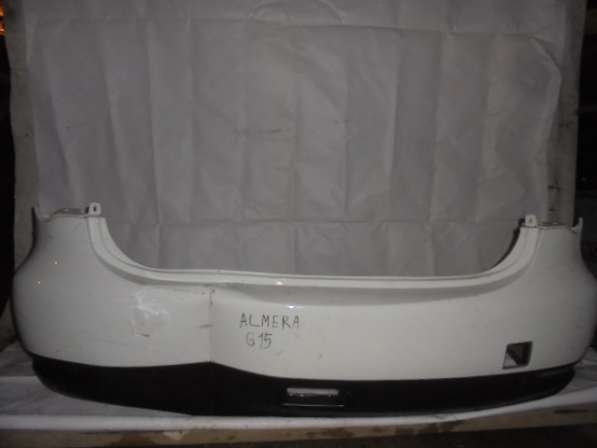 Задний бампер Nissan Almera G15