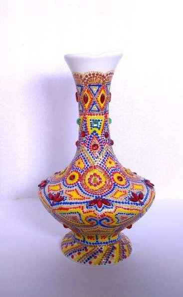Интерьерные фарфоровая ваза в Краснодаре