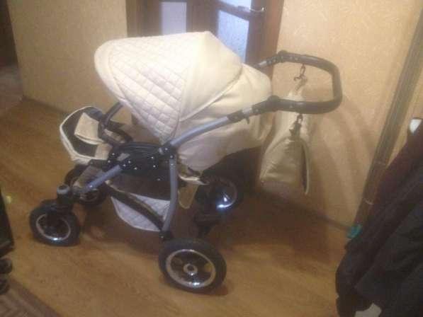 Продам детскую коляску 3 в 1 в хорошем состоянии в фото 5