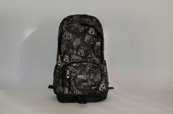 Рюкзак подростковый школьный мужской Найк Nike черный серый