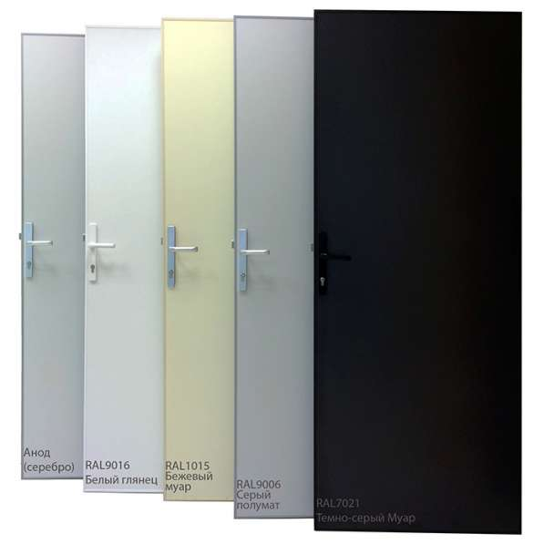 Перегородки и двери из алюминиевого профиля в Казани фото 10