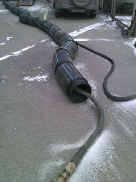 Бестраншейная замена канализации и водостоков, выпусков в Москве фото 4