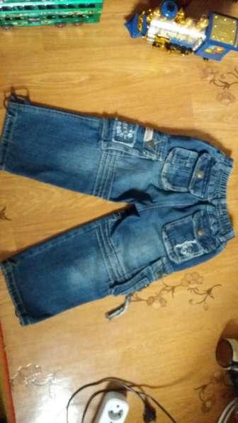 Стильные джинсы на рост 104 в фото 3