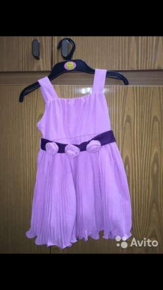Платье цвета пыльная роза на рост 104 см