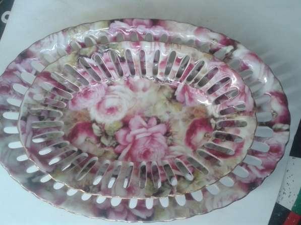 Конфетницы вазочки для сладостей большие фарфор