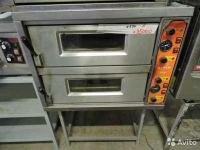 торговое оборудование Печь для пиццы 2-х ярусна