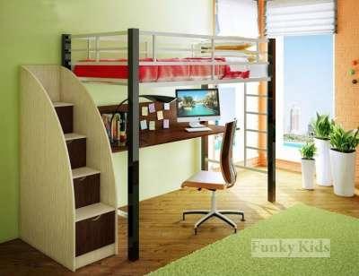Фанки Лофт 3 Металлическая кровать