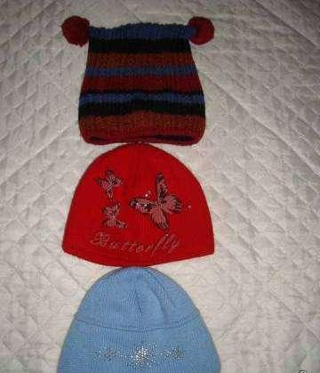 Тёплые шапки