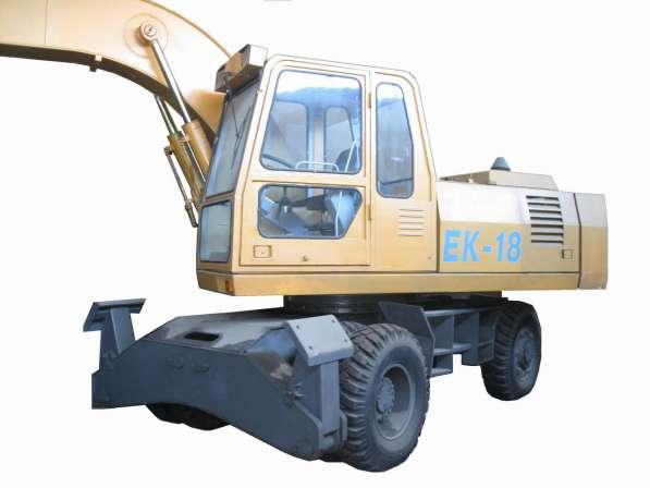 Продам экскаватор ЕК-18 (1 м. куб.)