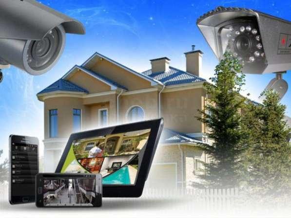 Установка пожароохранных сигнализаций и видеонаблюдения