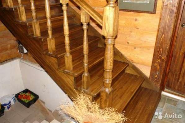 Лестницы дубовые