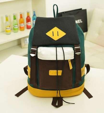 Рюкзак городской разноцветный мешок