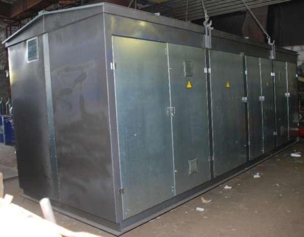Городские двух трансформаторные подстанции 2ГКТП до 2500 кВА