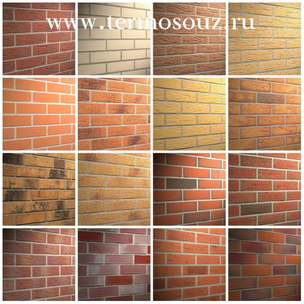 Фасадные клинкерные термопанели от производителя в Краснодаре фото 4