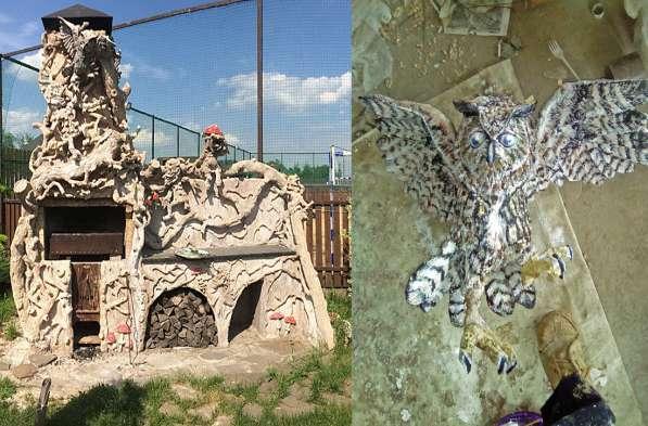 Ручная лепнина, барельеф, декор стен в Сергиевом Посаде фото 7