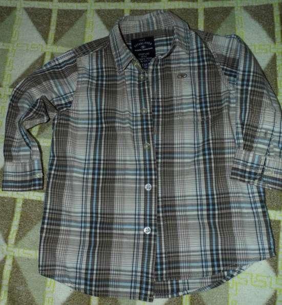 Рубашка для мальчика TOM TAILOR (Том тейлор) р.92-98 с длинн