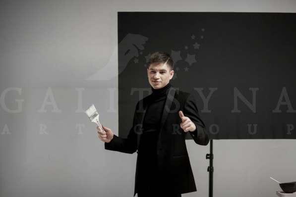 Шоу танцующий художник в Воронеже