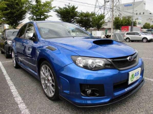 Subaru Impreza WRX STI спортивный седан