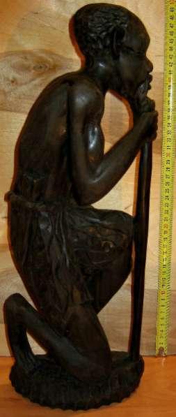статуэтка из черного дерева. ангола 1994
