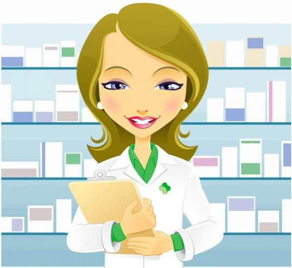 Фармацевт в аптеку