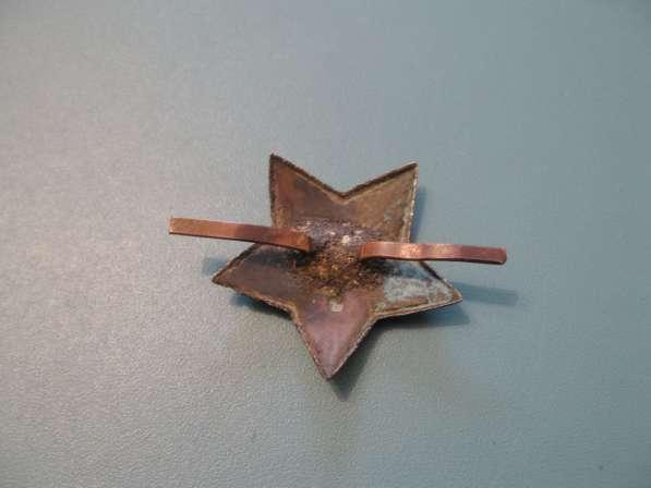 Звезда на фуражку Ркка и Советской Армии (40-50-е годы) в фото 3