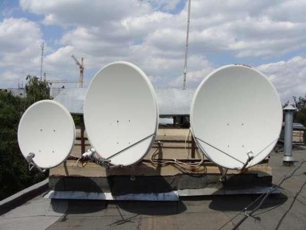 Установка антенн в Нижнем Новгороде. Настройка, ремонт