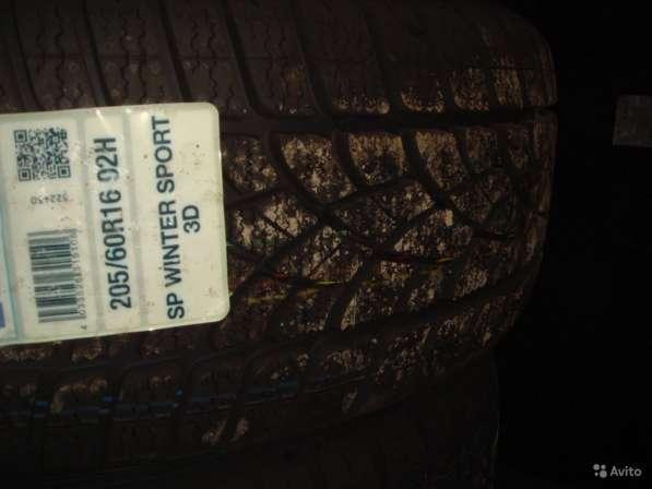 Новые немецкие Dunlop 215 55 R17 Winter Sport 3D