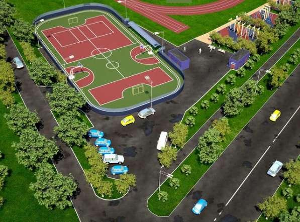 Строительство спортивных, игровых и детских площадок в Екатеринбурге фото 8