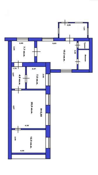 Продаю дом 75 кв. м