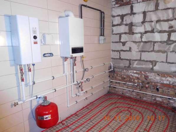 Монтаж систем отопления, водоснабжения, канализации в Омске фото 9